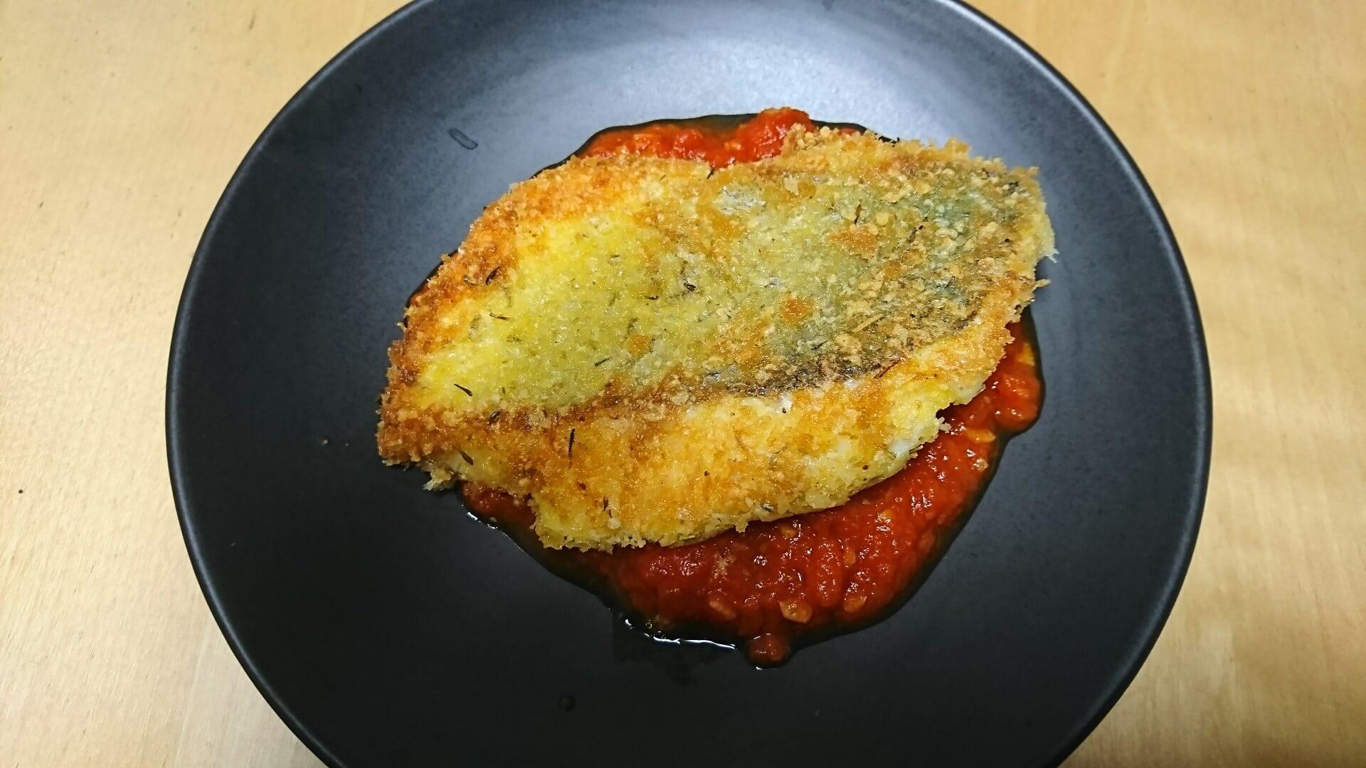ヒラスズキ レシピ 香草パン粉焼き