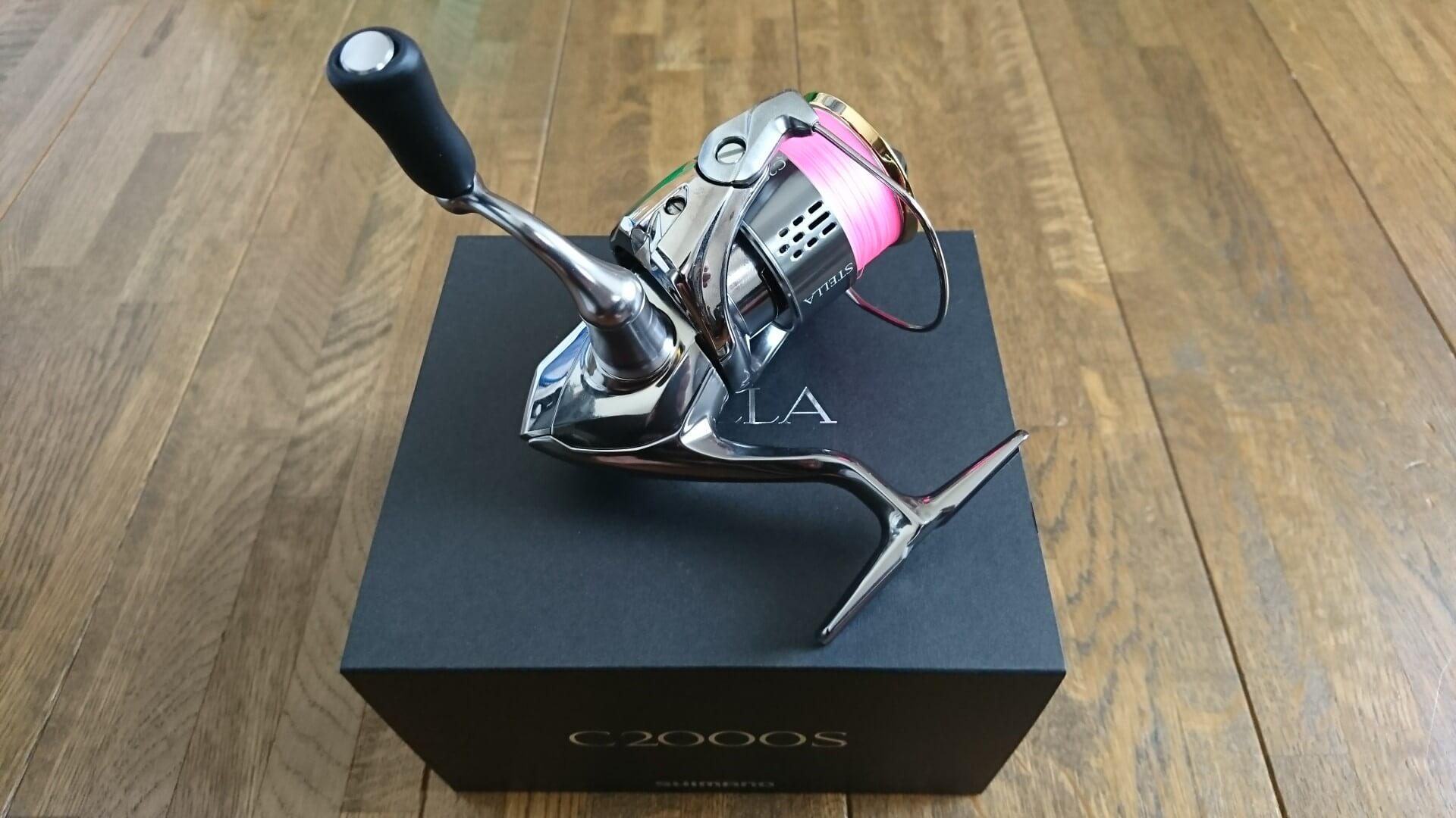 18ステラ C2000S購入インプレ!夢屋30mmアルミシングルハンドルでカスタム!